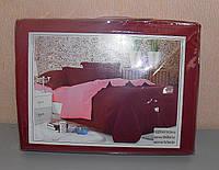 Двуспальный комплект постельного белья однотонное поплин (F-619)
