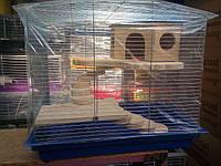 Клетка для крысы,дегу,шиншиллы,морской свинки,кролика.Размер 57*40*47см