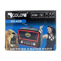 Радиоприемник от сети и батареек, Радиоколонка MP3 переносная Радио RX 435