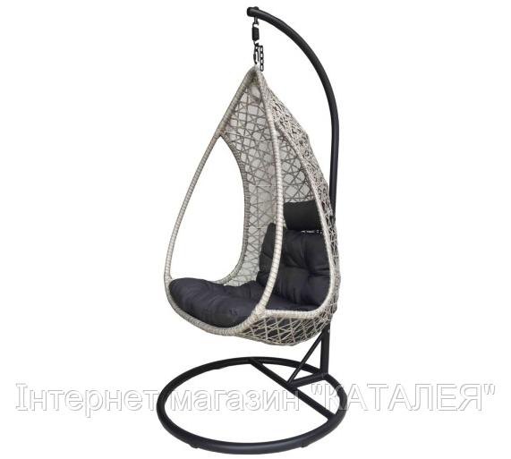 Сучасна гойдалка підвісний стілець кокон  LUNA DELUX