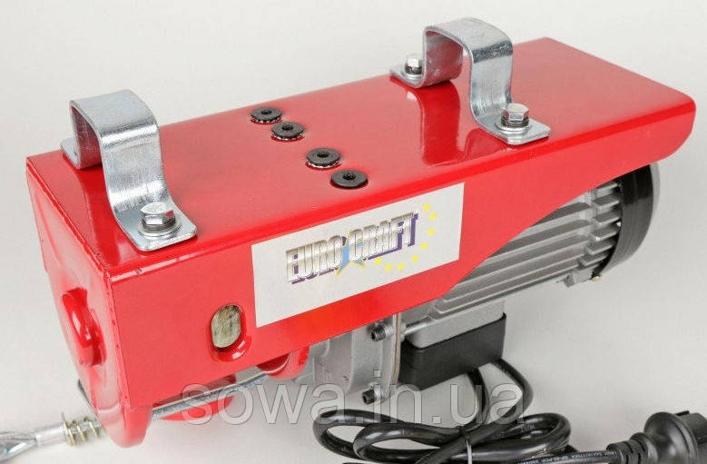 ✔️ Тельфер, лебедка Euro Craft HJ203  |  250/500kg