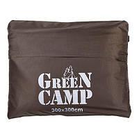 Пол дополнительный для палатки/тента, 300*300, коричневый. Распродажа! Оптом и в розницу!