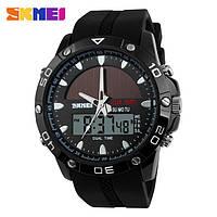 Мужские водонепроницаемые часы SKMEI 1064 (на солнечной батарее)