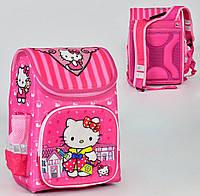 Ортопедический каркасный рюкзак Hello Kitty на 1 отделение и 3 кармана