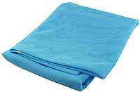 Пляжный коврик подстилка покрывало Антипесок Sand Free Mat 150х200 см Голубой