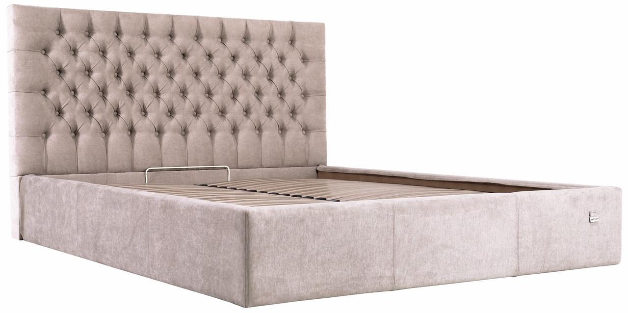 """Двуспальная кровать """"Кембридж"""" с подъемным механизмом (без матраса) ТМ Richman"""