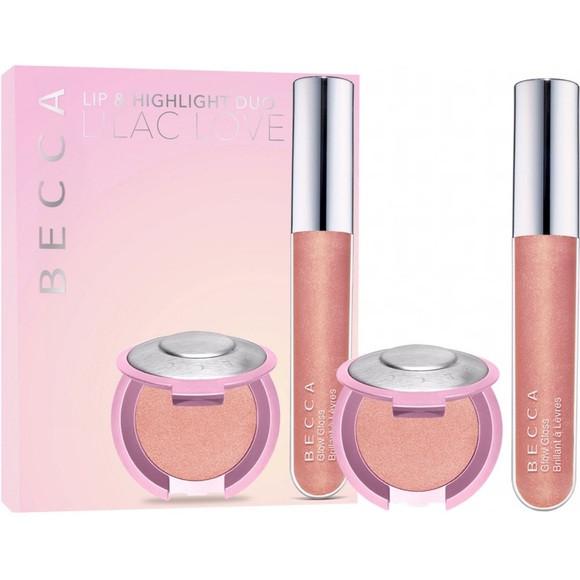 Косметический набор BECCA Lilac Love Lip & Highlighting Duo