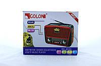 Радио RX 455 Solar, Радиоприемник от сети и батареек, Радиоколонка MP3 переносная