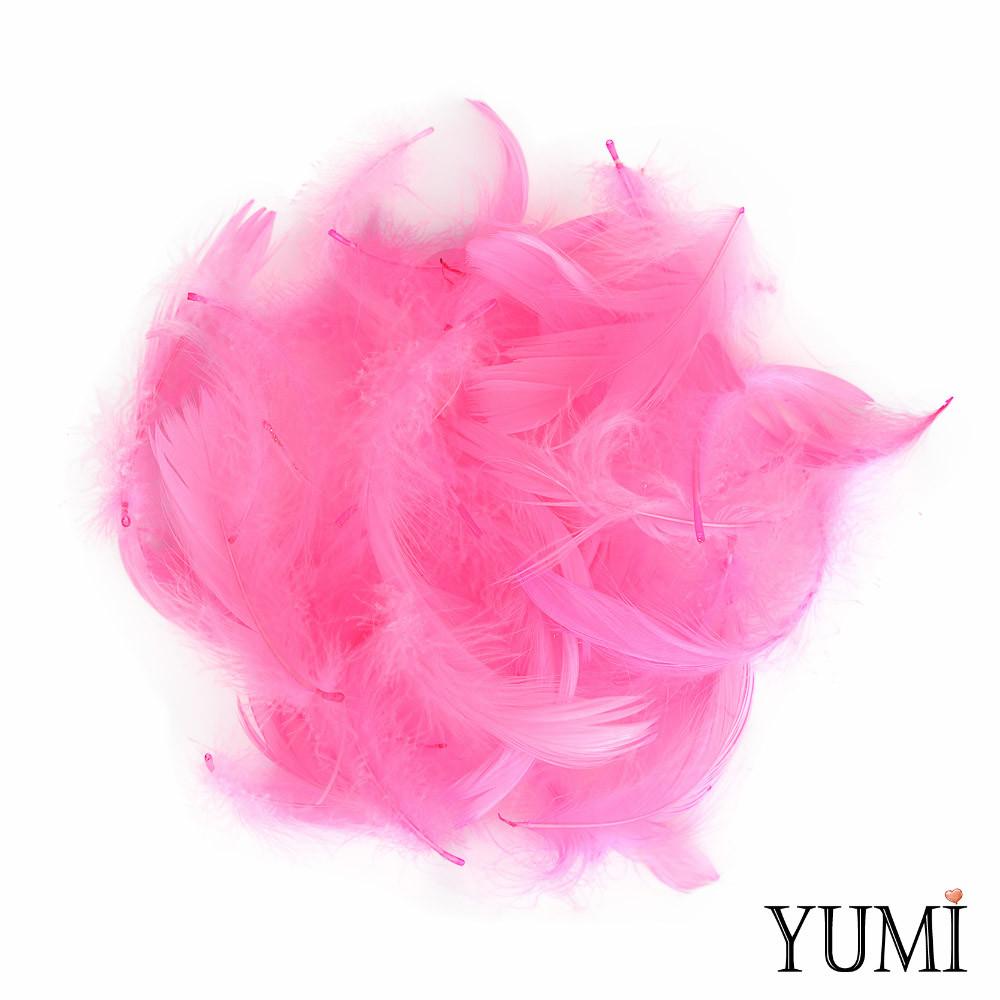Набор: перья на бабл / Bubble розовые, 12г