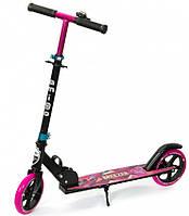 Самокат двухколесный для детей Amigo Sport - Breezer - розовый