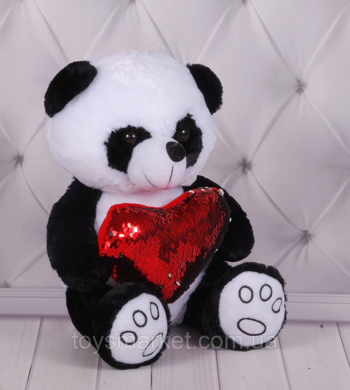 """Плюшевый медвежонок """"Панда"""", мягкий медведь в наличии, мишка от фабрики"""