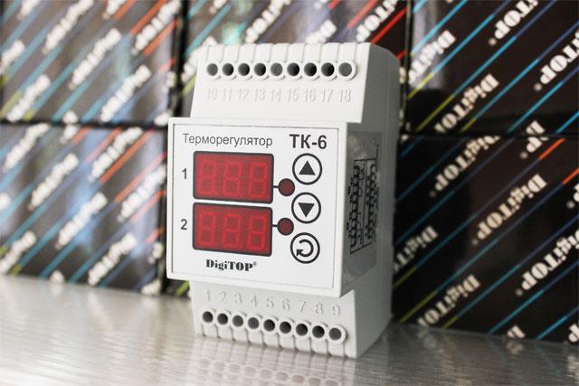электронный терморегулятор ТК-6