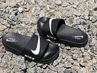 Шлепанцы пляжные Nike черные Ni0170