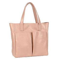Женская сумка кожаная 02 пудра флотар 01020113