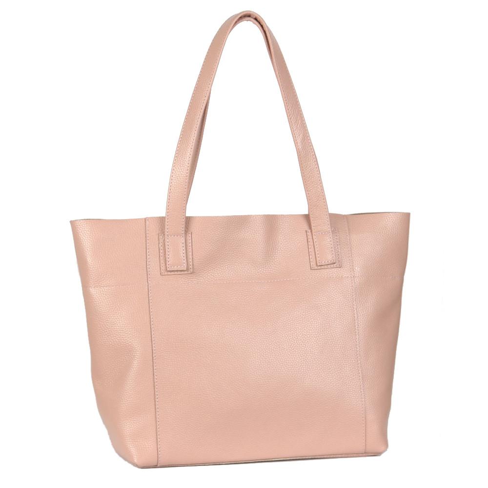 Женская сумка кожаная 03 пудра флотар 01030113