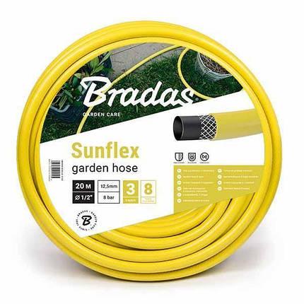 "Шланг для полива SUNFLEX 3/4"" 20м, WMS3/420 Bradas, фото 2"