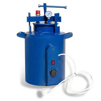 Автоклав HousePro-16 электрический на 16 пол литровых банок (7 литровых)