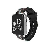 Ремешок для часов Apple Watch 42 мм 44 мм силиконовый с пряжкой, Camouflage with brown, фото 2