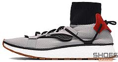 Мужские кроссовки Adidas X Alexander Wang Run Solid Grey CM7826 , Адидас Александер Ванг