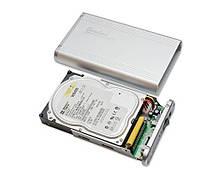 Внешний корпус Connectland USB 2.0 для 3,5-дюймового жесткого диска SATA / IDE CL-ENC35008, фото 3