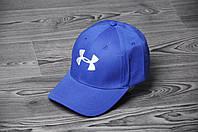 Кепка Бейсболка Under Armour летняя шестиклинка стильная голубая