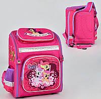 Ортопедический каркасный рюкзак My Little Pony на 1 отделение и 4 кармана