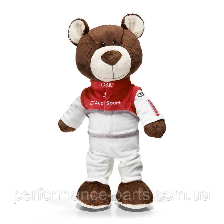 Медведь-автогонщик Audi Sport Teddy Bear, артикул 3201500100