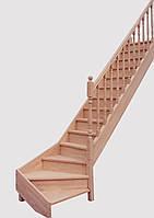 Маршевая лестница JURA QT бук