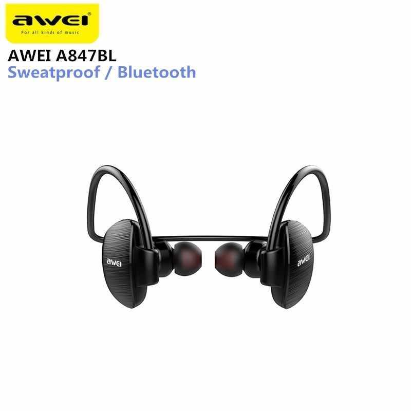 Спортивные Bluetooth наушники Awei A847BL