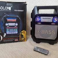 Радио RX 699 BT, Радиоприемник от сети и батареек, Радиоколонка MP3 переносная
