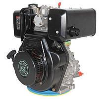 Двигатель дизельный Grunwelt GW 186 FВ (9,5 л.с., шпонка)