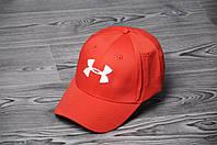 Кепка Бейсболка Under Armour летняя шестиклинка стильная красная