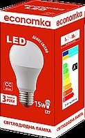 Светодиодная лампа Economka LED А60 15W Е27 4200К
