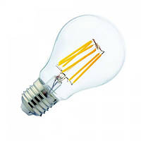 """Лампа светодиодная """"FILAMENT GLOBE-6"""" 6W A60 Е27 4200К"""