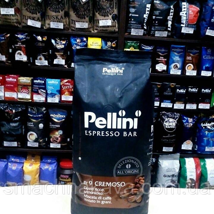 Кофе в зернах Pellini Espresso Bar n9 Cremoso 1кг
