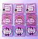 Шоколадні подарунки гостям на хрещення дівчинки, хлопчика. Бонбоньєрки, ( шоколадна бонбоньєрка), фото 8