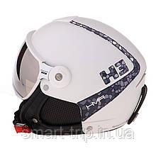 Шлем для горных лыж HMR Trends Glass Window White/grey 442