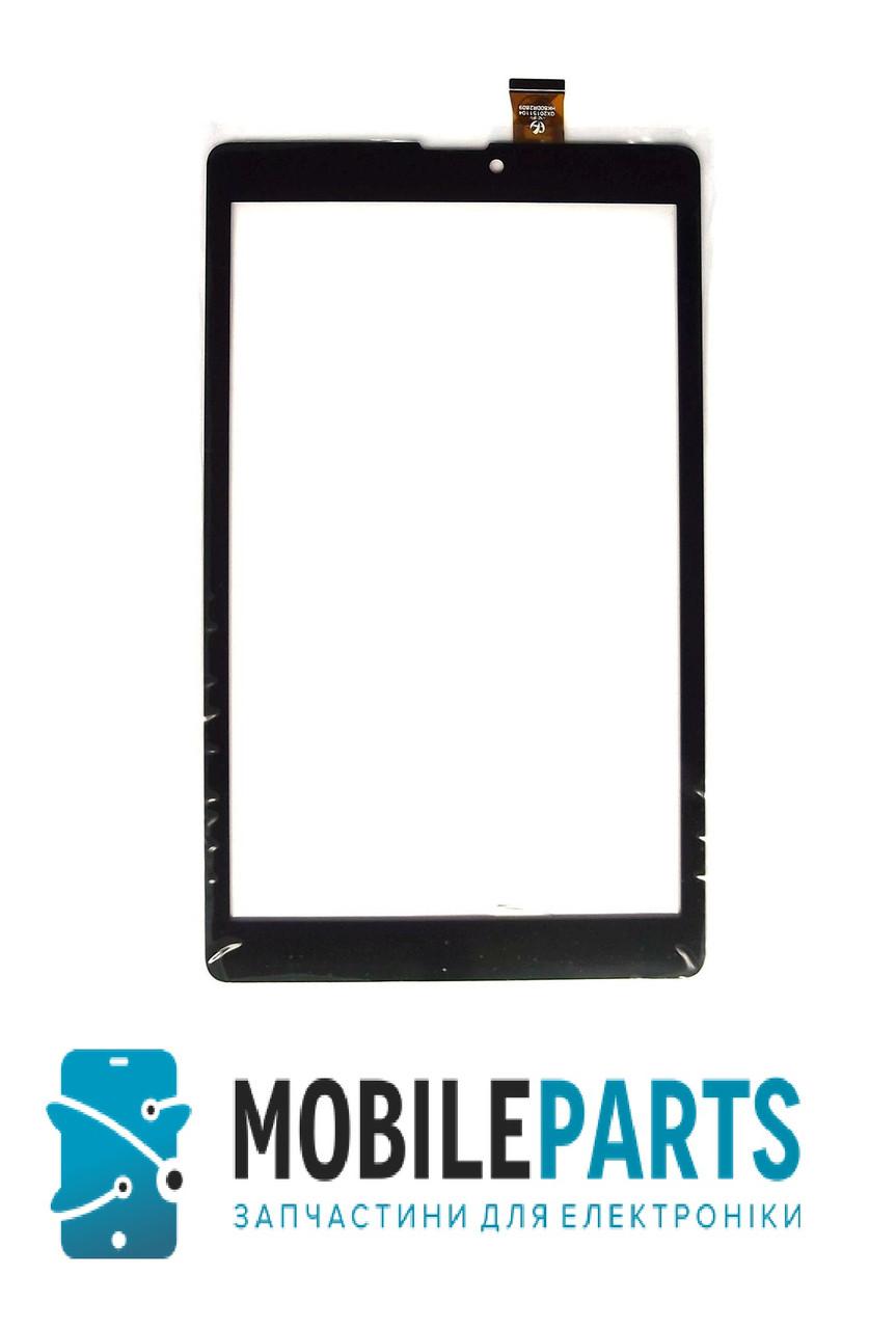 Сенсор для планшета Nomi (120*204) C08000 (HK80DR2809) (Черный) Оригинал Китай