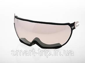 Візор для гірськолижного шолома HMR MultilayerBlue UV S2 Black VTS1B