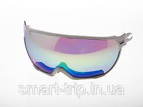 Візор для гірськолижного шолома HMR UV S3 White VTM7W