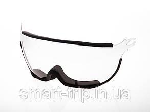 Визор для горнолыжного шлема HMR UV S0 Black VT1B