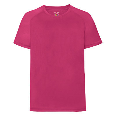 Модная спортивная подростковая футболка малиновая - 116, 128, 140, 152, 164