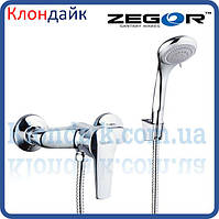 Смеситель для душевой кабины Zegor SWZ5 WKB182 (хром)