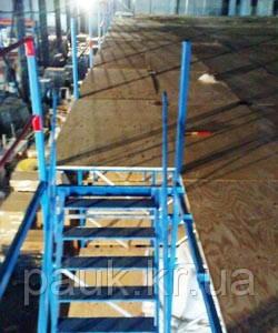 Стелаж мезонін-поміст, складські стелажі, стелажні системи