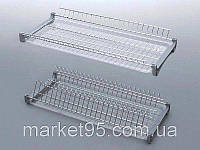 Сушарка для посуду у шафу 600 мм, хром, фото 1