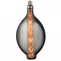 "Лампа светодиодная ""ENIGMA-XL"" 8W Filament LED Titanium"
