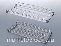 Сушарка для посуду у шафу 700 мм. хром, фото 1