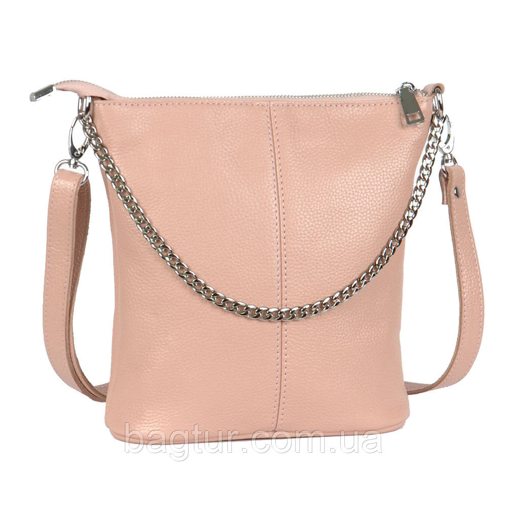 Женская сумка кожаная 41 пудра флотар 01410113