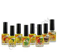 Nila Cuticle Oil масло для кутикул 12ml. (Малина, Мандарин, Шоколад, Дыня, Зеленый чай, Ананас, Лимон, Персик)