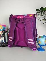 Рюкзак каркасный ортопедический фиолетового цвета с изображением Winx, фото 2